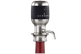 No-mess wine aerator