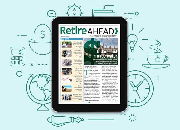Retire Ahead newsletter